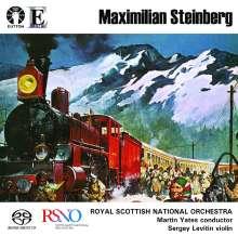 "Maximilian Steinberg (1883-1964): Symphonie Nr.4 op.24 ""Turksib"", Super Audio CD"