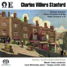 Charles Villiers Stanford (1852-1924): Klavierkonzert B-Dur (1873), Super Audio CD
