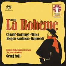 Giacomo Puccini (1858-1924): La Boheme, 2 Super Audio CDs