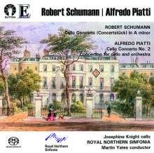 Alfredo Piatti (1822-1901): Cellokonzert Nr. 2 d-moll op. 26, Super Audio CD