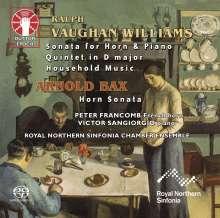Ralph Vaughan Williams (1872-1958): Sonate für Horn & Klavier, Super Audio CD