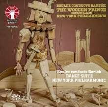 Bela Bartok (1881-1945): Der hölzerne Prinz op.13 (Ballettmusik), Super Audio CD