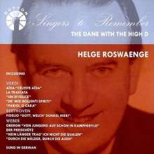 Helge Rosvaenge - The Dane with the High D, CD