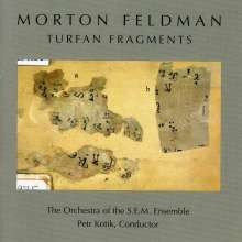 Morton Feldman (1926-1987): Turfan Fragments, CD