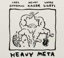 Greg Goodman, Henry Kaiser & Lucas Ligeti: Heavy Meta, CD