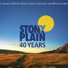 40 Years Of Stony Plain, 3 CDs