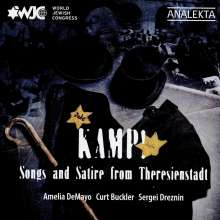 Kamp! Songs and Satire from Theresienstadt, CD
