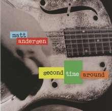 Matt Andersen: Second Time Around, CD