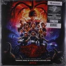Kyle Dixon & Michael Stein: Filmmusik: Stranger Things: Season 2 (O.S.T.) (Blue Vinyl), 2 LPs