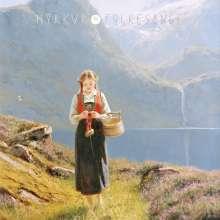 Myrkur: Folkesange (Limited Edition) (Baby Blue/White/Green Vinyl), LP