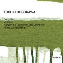 Toshio Hosokawa (geb. 1955): Ferne Landschaft II für Orchester, CD
