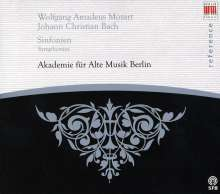 Johann Christian Bach (1735-1782): 3 Symphonien, CD