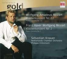 Franz Xaver Mozart (1791-1844): Klavierkonzert op.25, CD