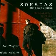 Jan Vogler spielt Cellosonaten, CD