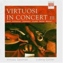 Virtuosi Saxoniae in Concert III, CD