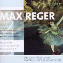Max Reger (1873-1916): Beethoven-Variationen op.86, CD