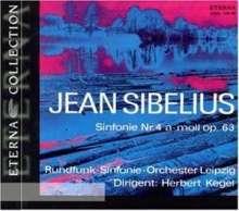 Jean Sibelius (1865-1957): Symphonien Nr.4 & 6, CD