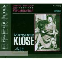 Margarete Klose singt Arien, CD