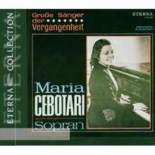 Maria Cebotari singt Arien, CD