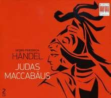 Georg Friedrich Händel (1685-1759): Judas Maccabaeus (in deutscher Sprache), 2 CDs