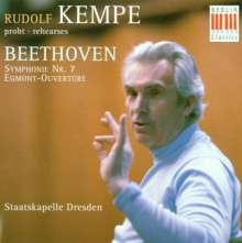 Rudolf Kempe probt Beethoven, CD