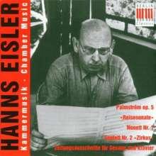 "Hanns Eisler (1898-1962): Sonate für Violine & Klavier ""Reisesonate"", CD"