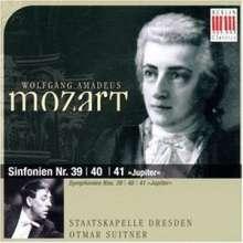 Wolfgang Amadeus Mozart (1756-1791): Symphonien Nr.39-41, CD