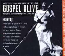 Various Artists: Gospel Alive-Sacred Recordings, 3 CDs