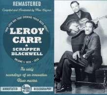 Leroy Carr: Leroy Carr Vol.1: 1928-1934, 4 CDs