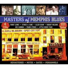 Masters Of Memphis Blues, 4 CDs