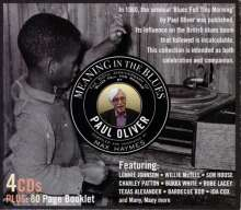 Various Artists: Meaning In The Blues, 4 CDs