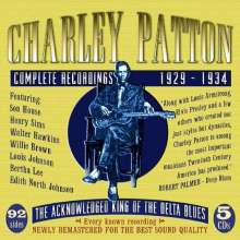 Charley Patton: Complete Recordings 1929-1934, 5 CDs