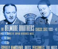 Delmore Brothers: Classic Cuts 1933-1941, 4 CDs