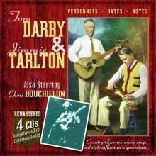 Darby & Tarlton: Country Bluesmen Whose Songs & Style Influenced A Generation, 4 CDs