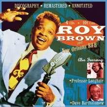 Roy Brown/Longhair/Bart: Roy Brown & New Orleans, 4 CDs