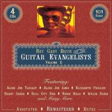 Blind Gary Davis: Gary Davis And The Guitar Evangelists Vol.2, 4 CDs