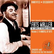 Fats Waller (1904-1943): The Complete Recorded W, 4 CDs