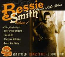 Bessie Smith: Queen Of The Blues Vol. 1, 4 CDs