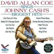 David Allan Coe: Sings Johnny Cash's Biggest Hits, CD