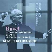 Maurice Ravel (1875-1937): Daphnis et Chloe-Suiten Nr.1 & 2, CD