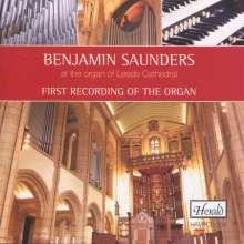 Benjamin Saunders an der Orgel Leeds Cathedral, CD