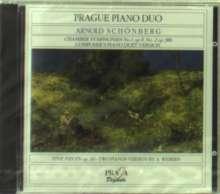 Arnold Schönberg (1874-1951): Kammersymphonien Nr.1 & 2 arr.f.2 Klaviere, CD