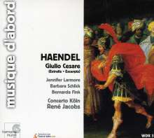 Georg Friedrich Händel (1685-1759): Giulio Cesare in Egitto (Ausz.), CD