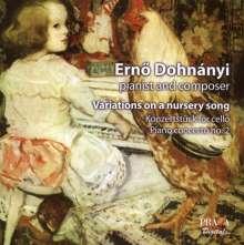 Ernst von Dohnanyi (1877-1960): Variationen über ein Kinderlied f. Klavier & Orchester op.25, Super Audio CD