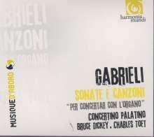 Giovanni Gabrieli (1557-1612): Canzoni & Sonate, CD