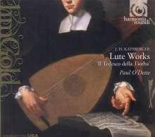 Giovanni Kapsberger (1580-1651): Lautenwerke, CD