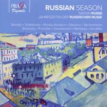Russian Season, CD