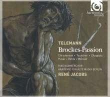 Georg Philipp Telemann (1681-1767): Brockes Passion (1719), 2 CDs