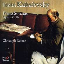 Dimitri Kabalewsky (1904-1987): Klaviersonaten Nr.1-3, Super Audio CD