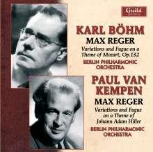 Max Reger (1873-1916): Hiller-Variationen op.100, CD